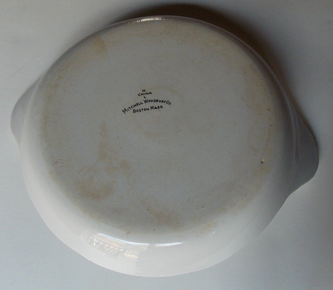 "Maine Central ""Bangor"" Pattern China Au Gratin - 3"