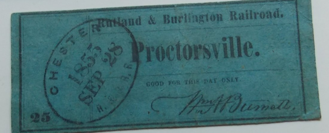 New England Railroad Tickets & Ephemera - 3