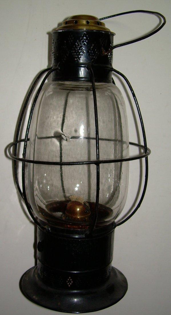Sargent's 1861 Patent Fixed Globe Lantern
