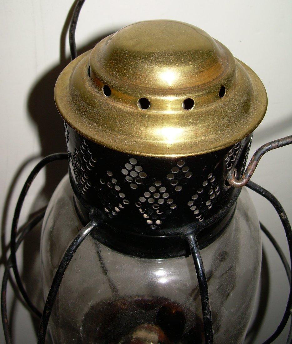 Sargent's 1861 Patent Fixed Globe Lantern - 2