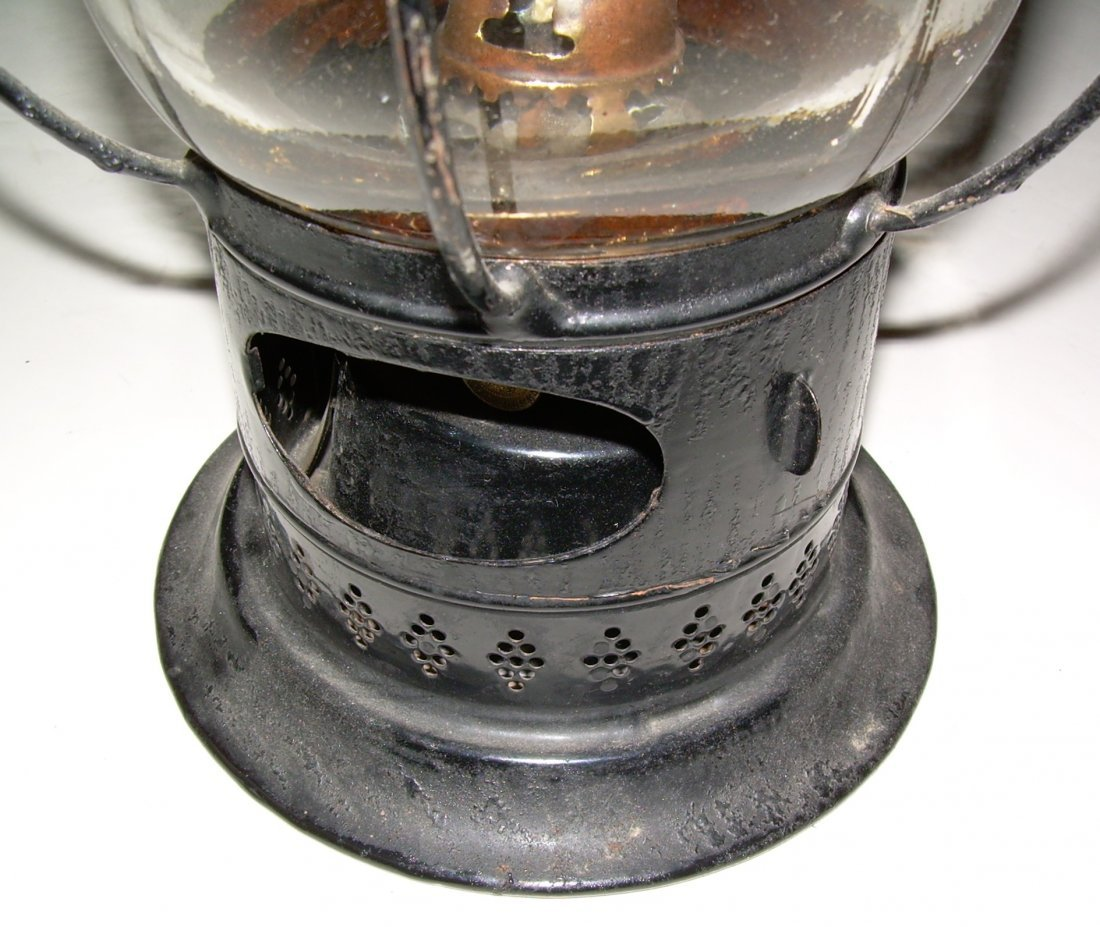 Sargent's 1861 Patent Fixed Globe Lantern - 3