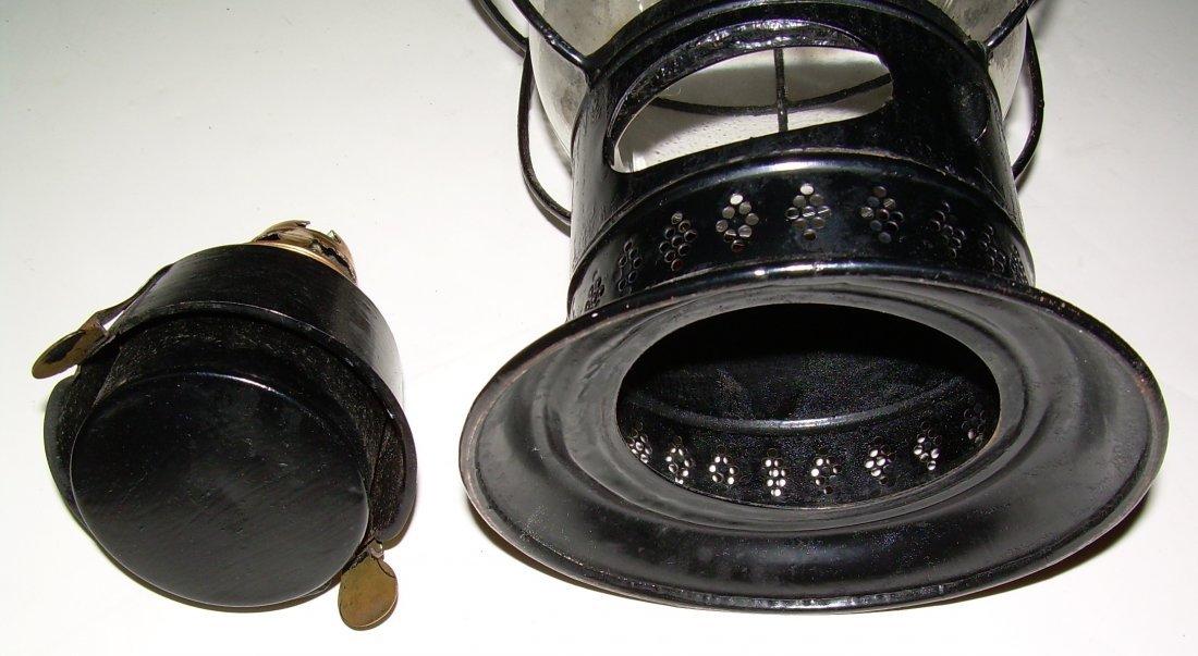 Sargent's 1861 Patent Fixed Globe Lantern - 5