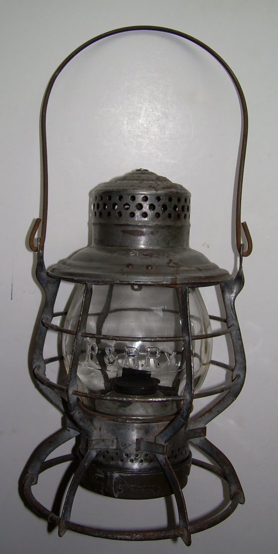 Philadelphia & Reading Railway Lantern - 2