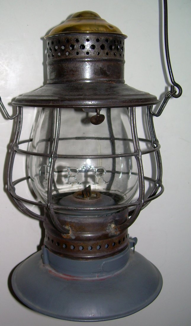 Ham Brasstop Lantern PRR MacBeth Cast Globe