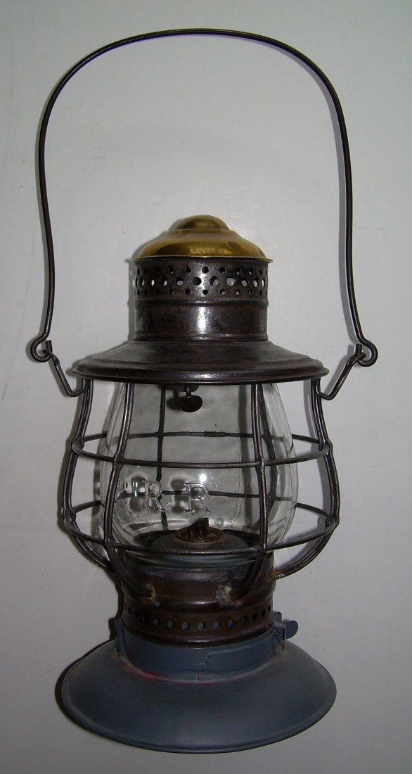 Ham Brasstop Lantern PRR MacBeth Cast Globe - 2