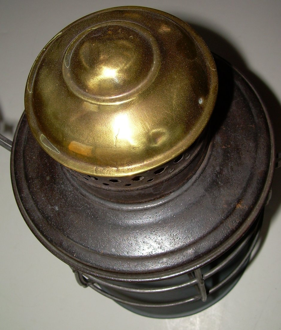 Ham Brasstop Lantern PRR MacBeth Cast Globe - 3