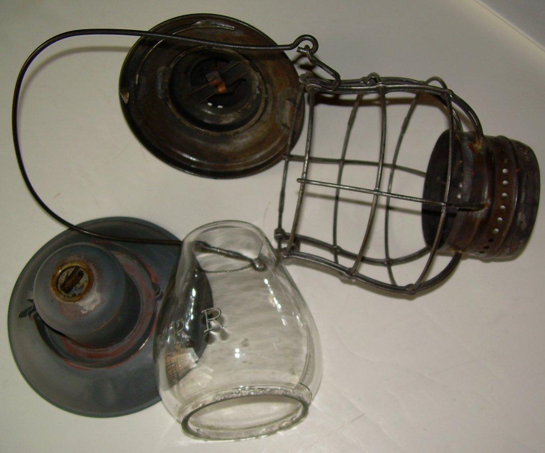 Ham Brasstop Lantern PRR MacBeth Cast Globe - 8