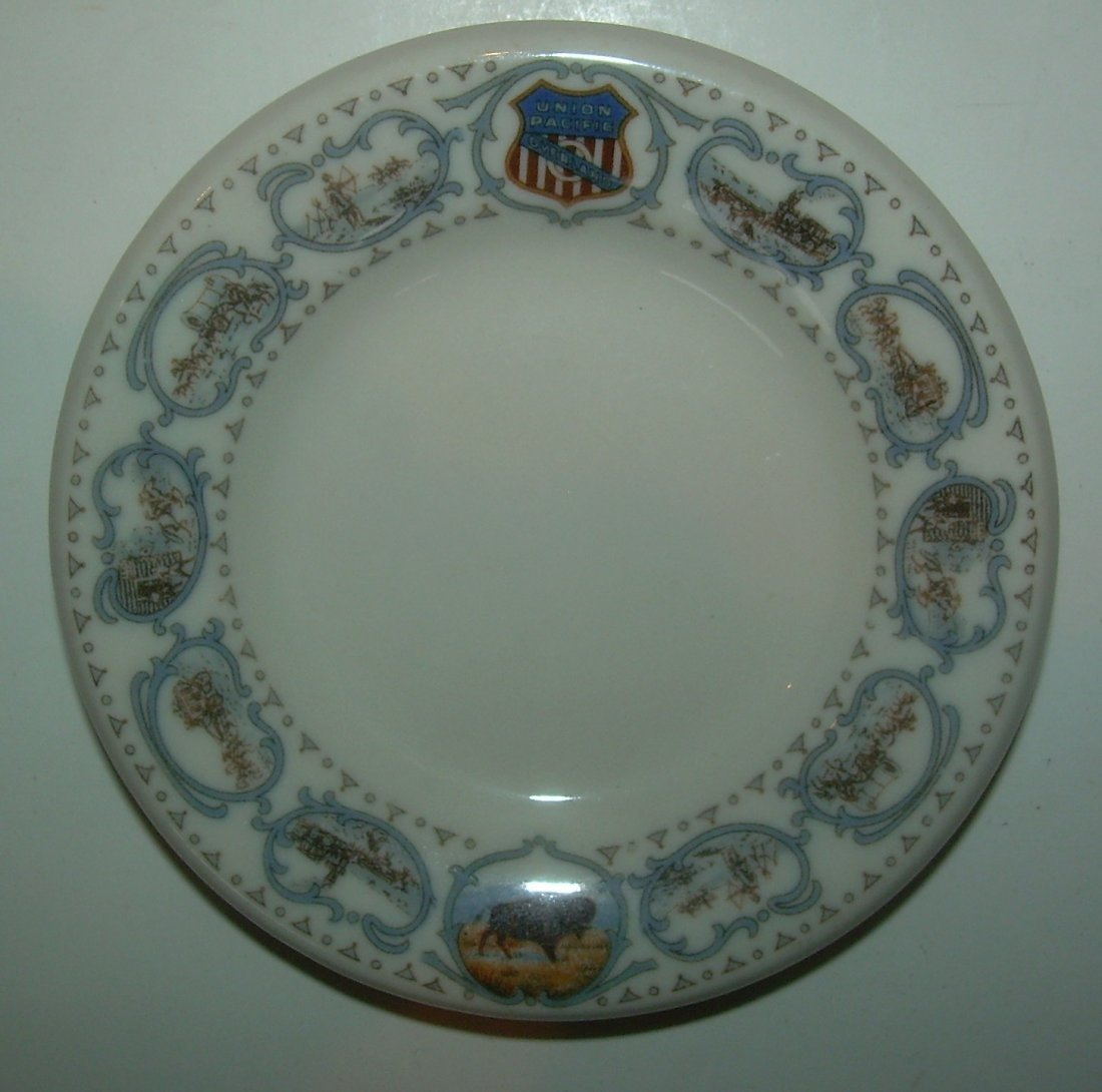 Union Pacific Railroad Historical China Butter Pat