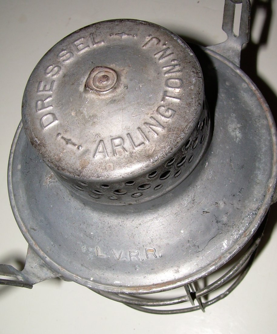 Lehigh Valley Railroad Lantern Green  Globe - 2