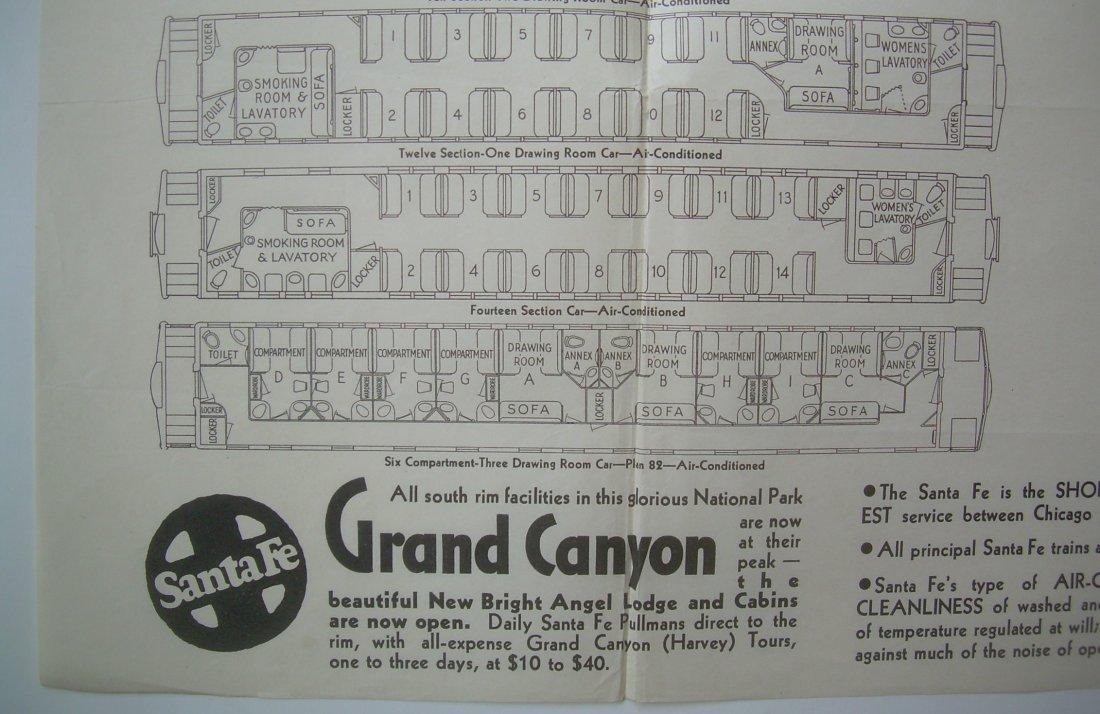 Santa Fe - Car Diagrams 1930s - 2