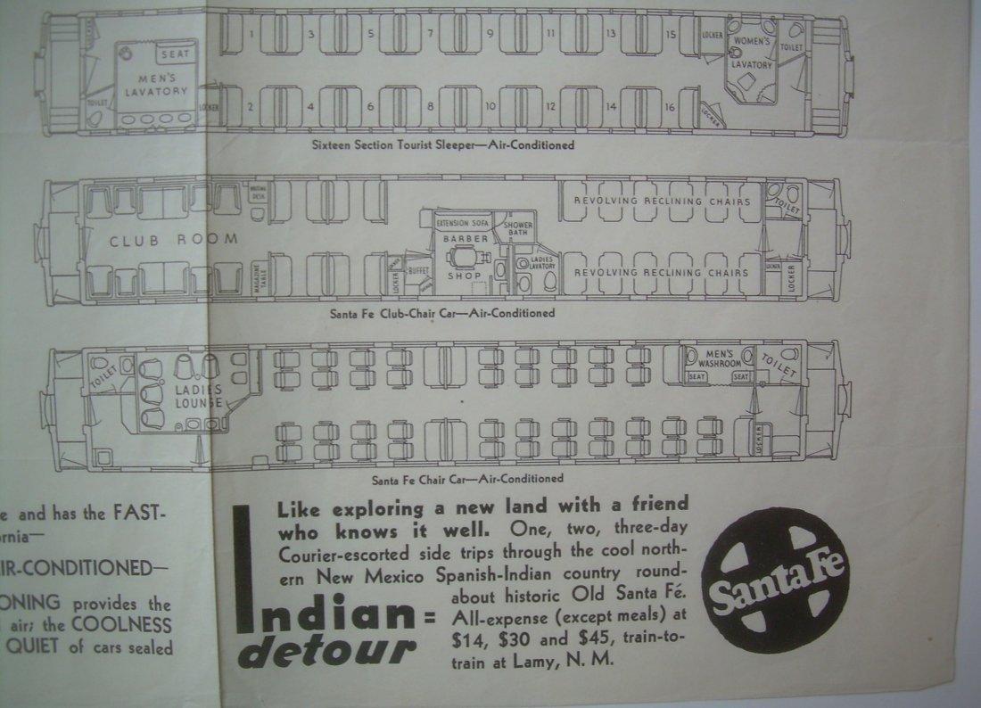Santa Fe - Car Diagrams 1930s - 3