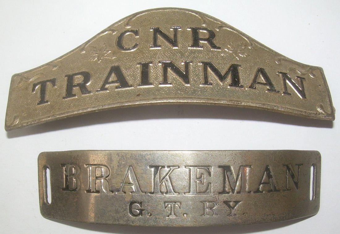 Canadian Hat Badges: CNR GTR (2)