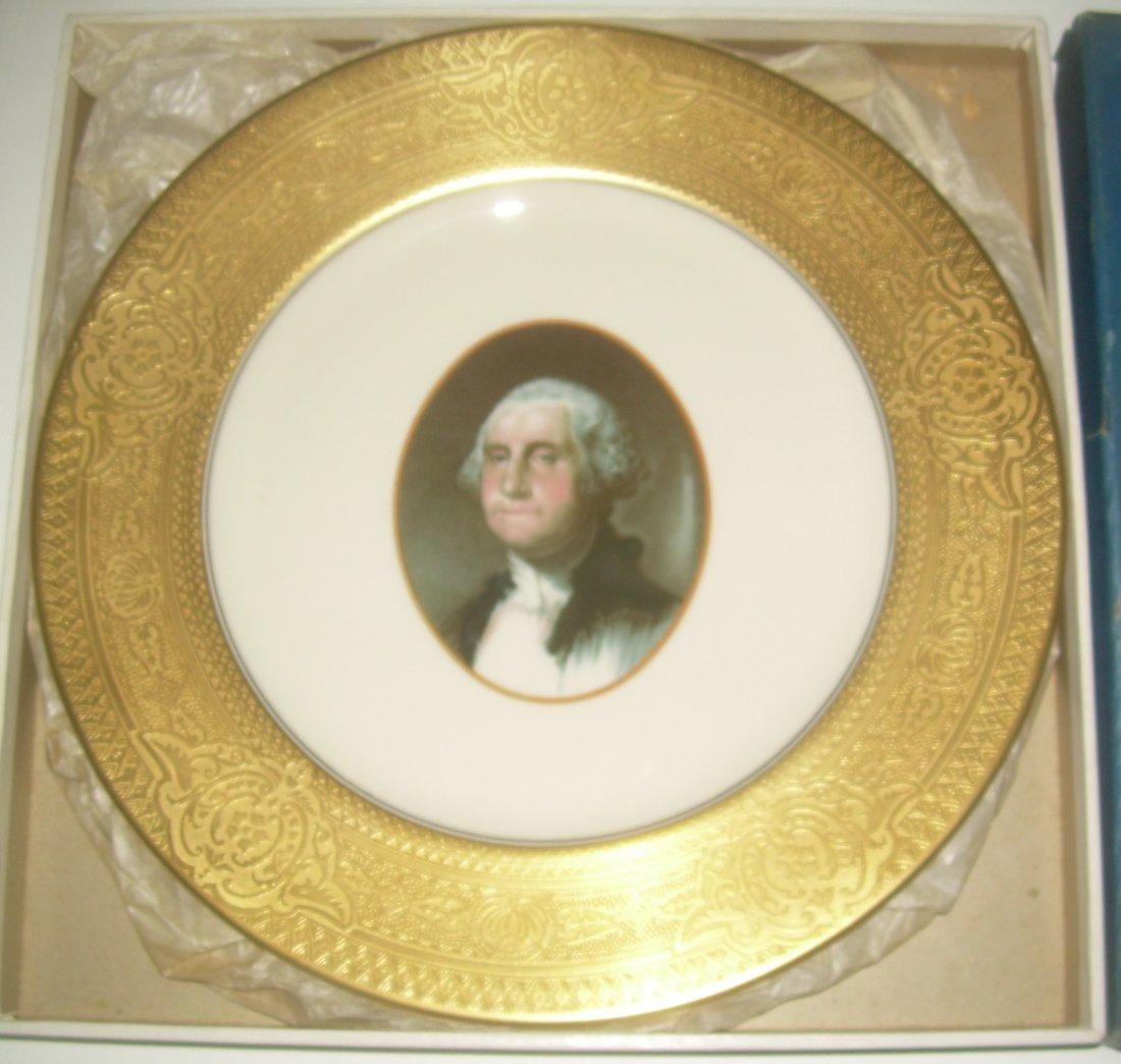 Chesapeake & Ohio Washington Plate in original box - 2