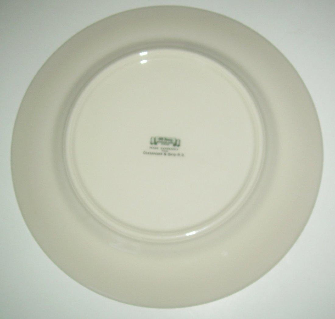 Chesapeake & Ohio Washington Plate in original box - 6