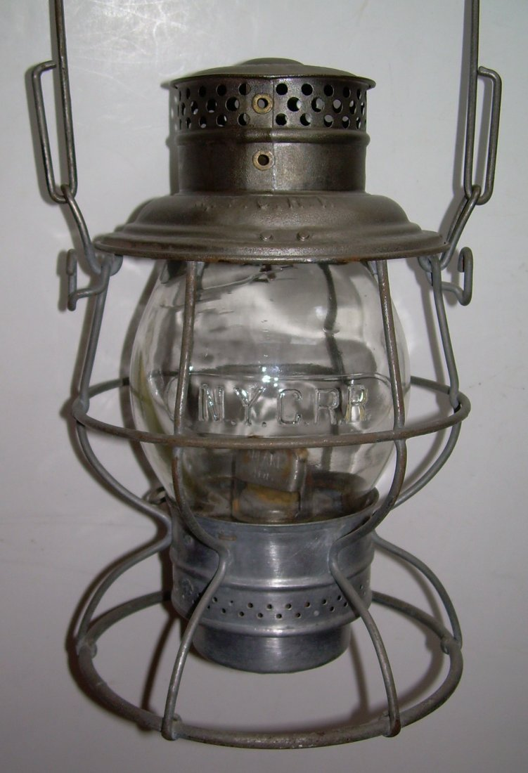 New York Central Reliable Railroad Lantern