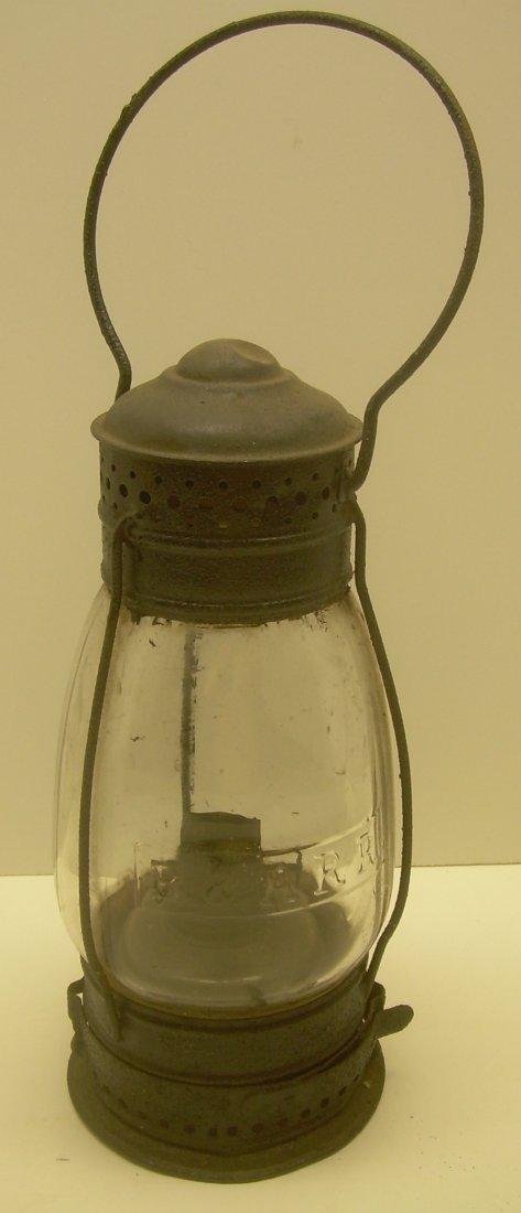 Boston & Albany Cast Fixed Globe Lantern - 2