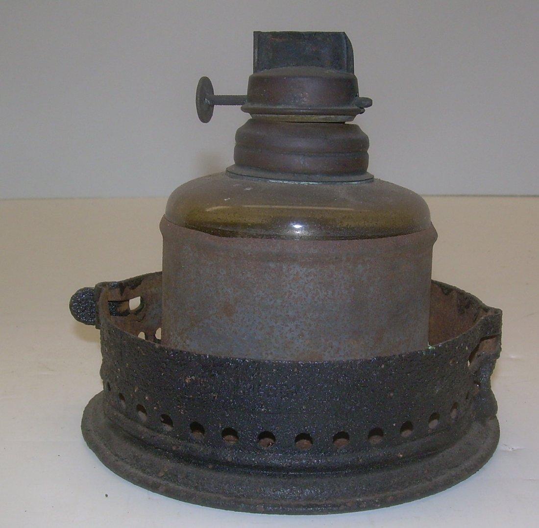 Boston & Albany Cast Fixed Globe Lantern - 4