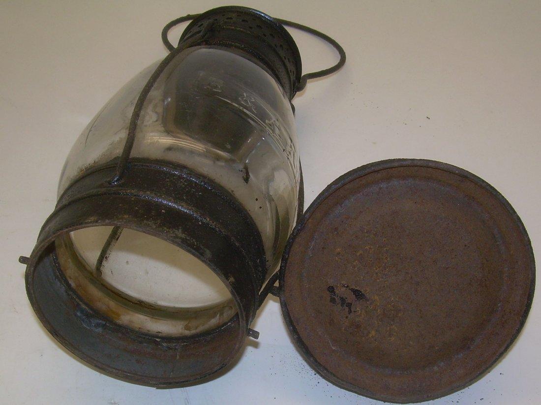 Boston & Albany Cast Fixed Globe Lantern - 5