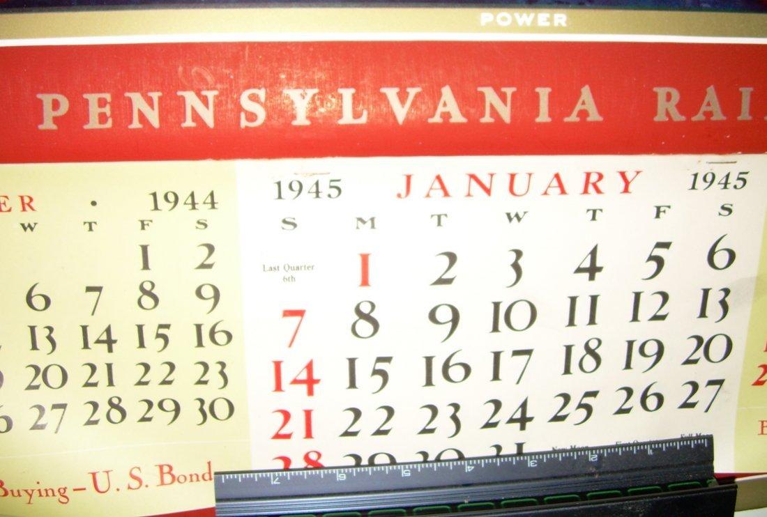 Pennsylvania Railroad Calendar 1945 - 3