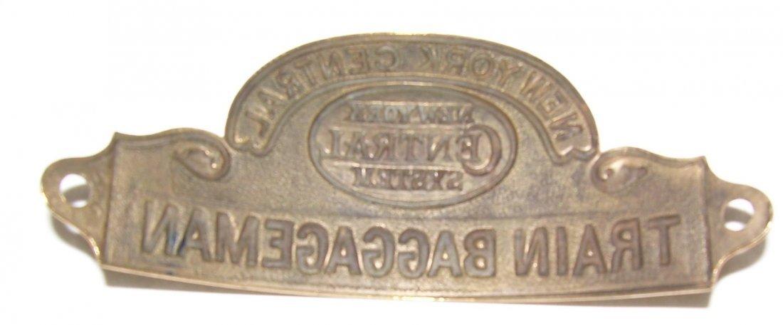 NYCS Train Baggageman Hat Badge - 2