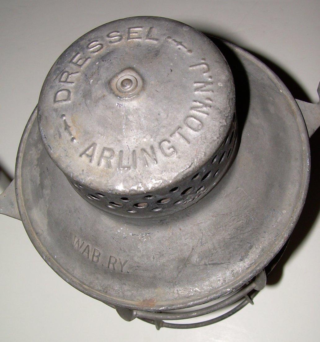 Wabash Railway Dressel Lantern - 2