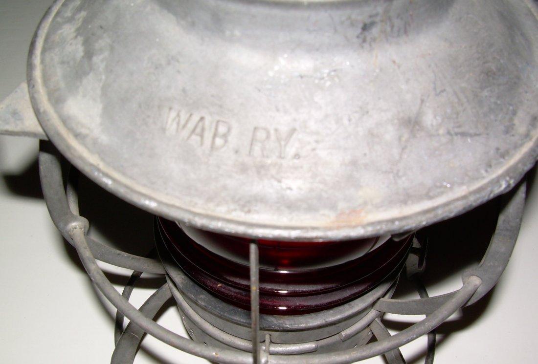 Wabash Railway Dressel Lantern - 3