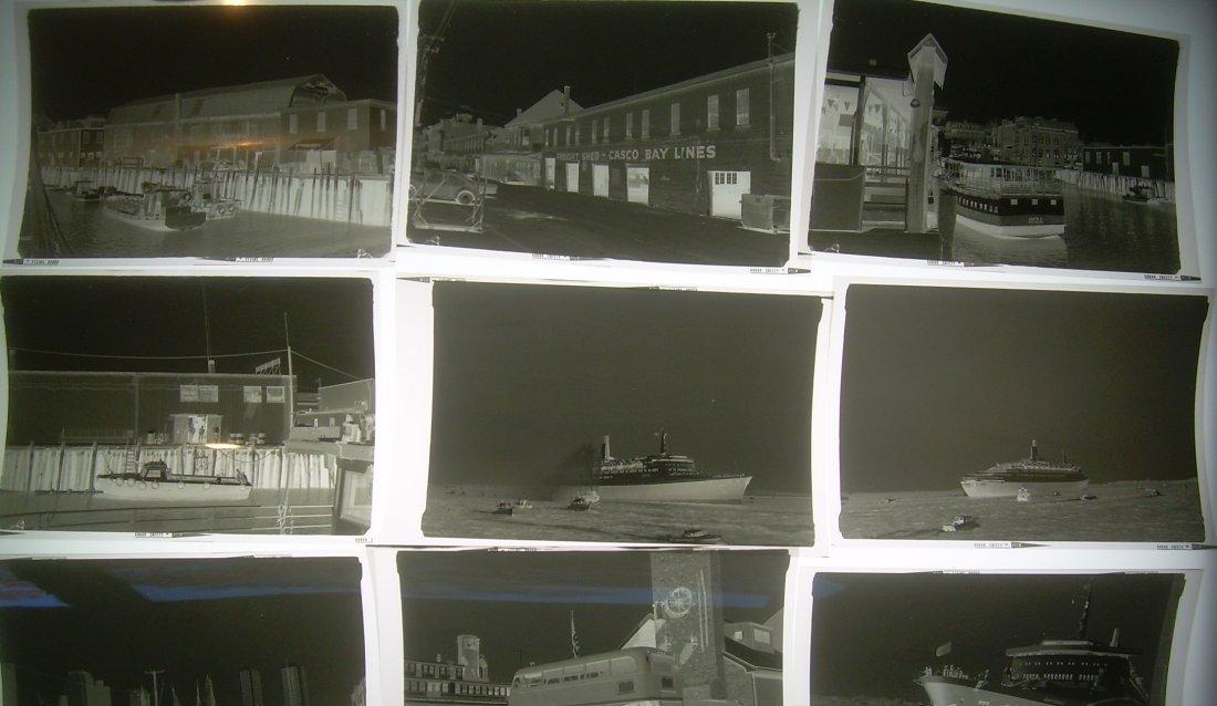 Photo Negatives Boats Alan Thomas 400 - 3