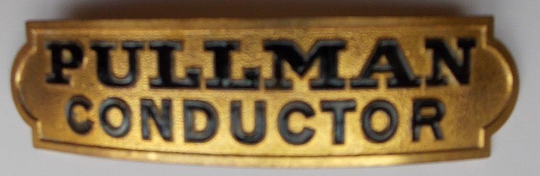 Pullman Company Conductor Hat Badge