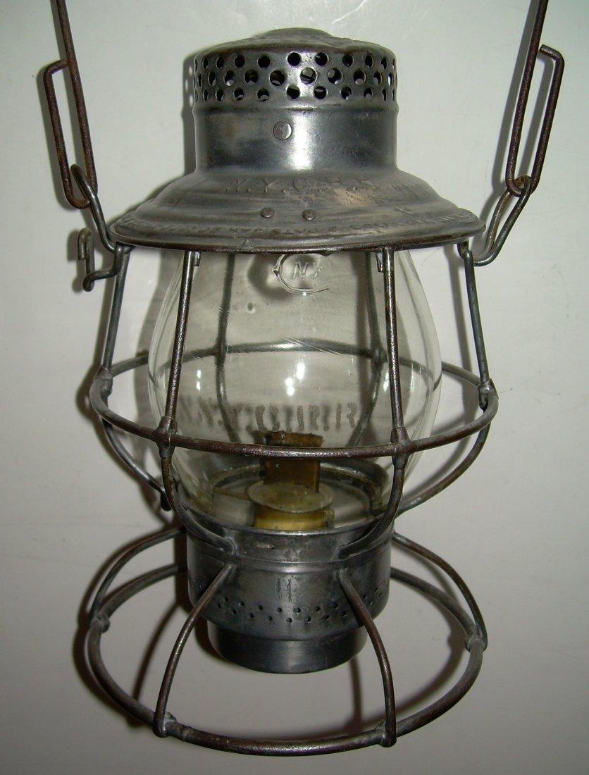 New York Central Reliable Railroad Lantern