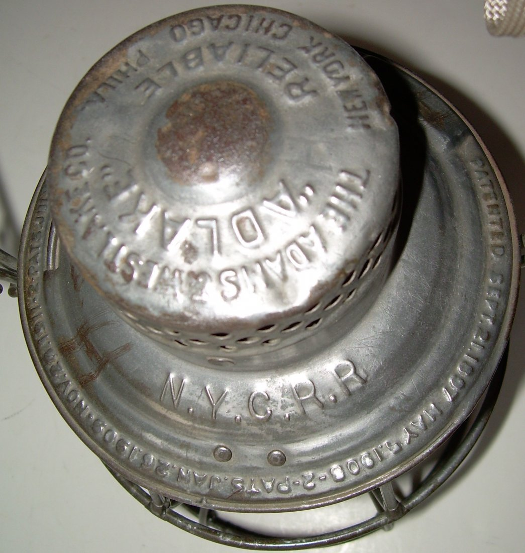 New York Central Reliable Railroad Lantern - 3