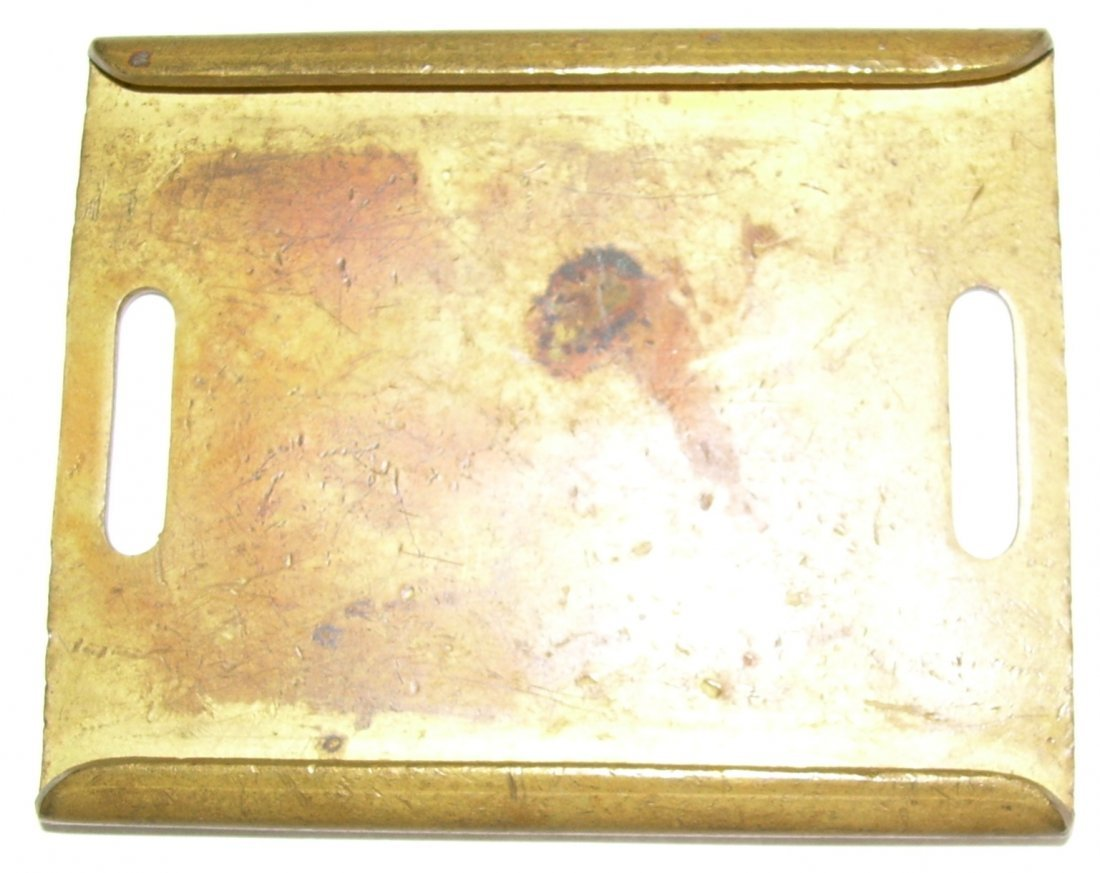 Rome Watertown & Ogdensburg Railroad Baggage Tag - 2