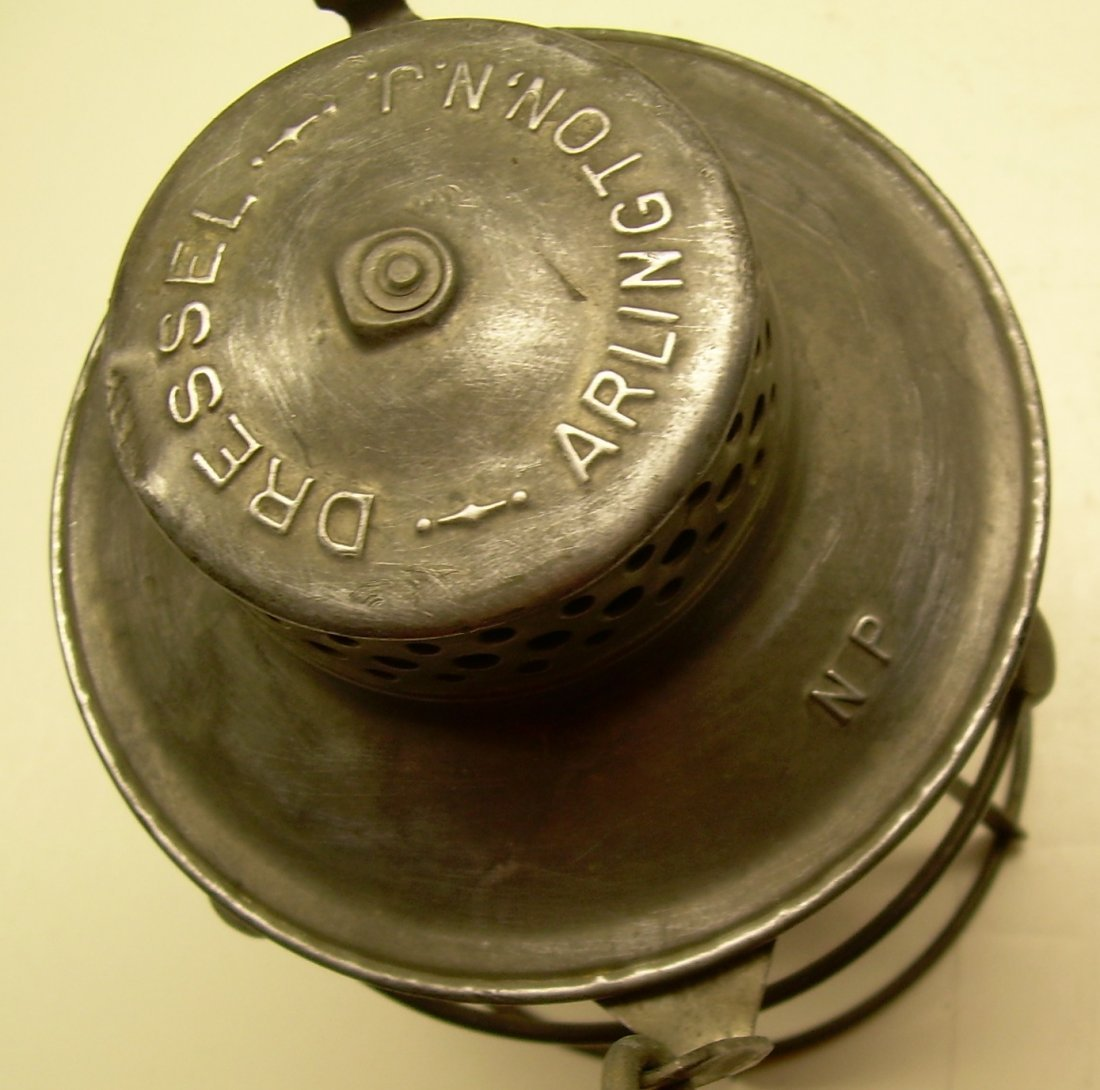 Northern Pacific Railway Lantern Etched Globe - 3
