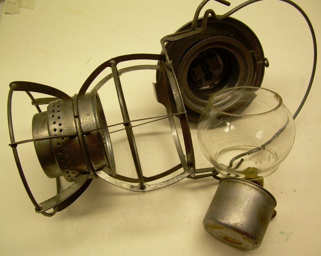 Northern Pacific Railway Lantern Etched Globe - 6