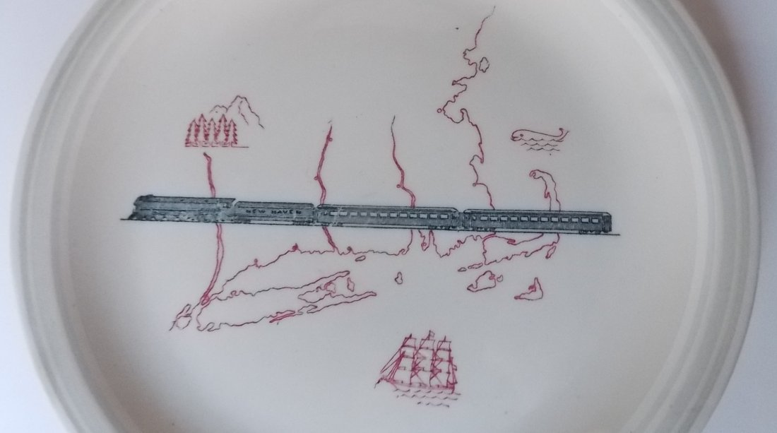 New Haven Merchants Pattern China (2) - 2
