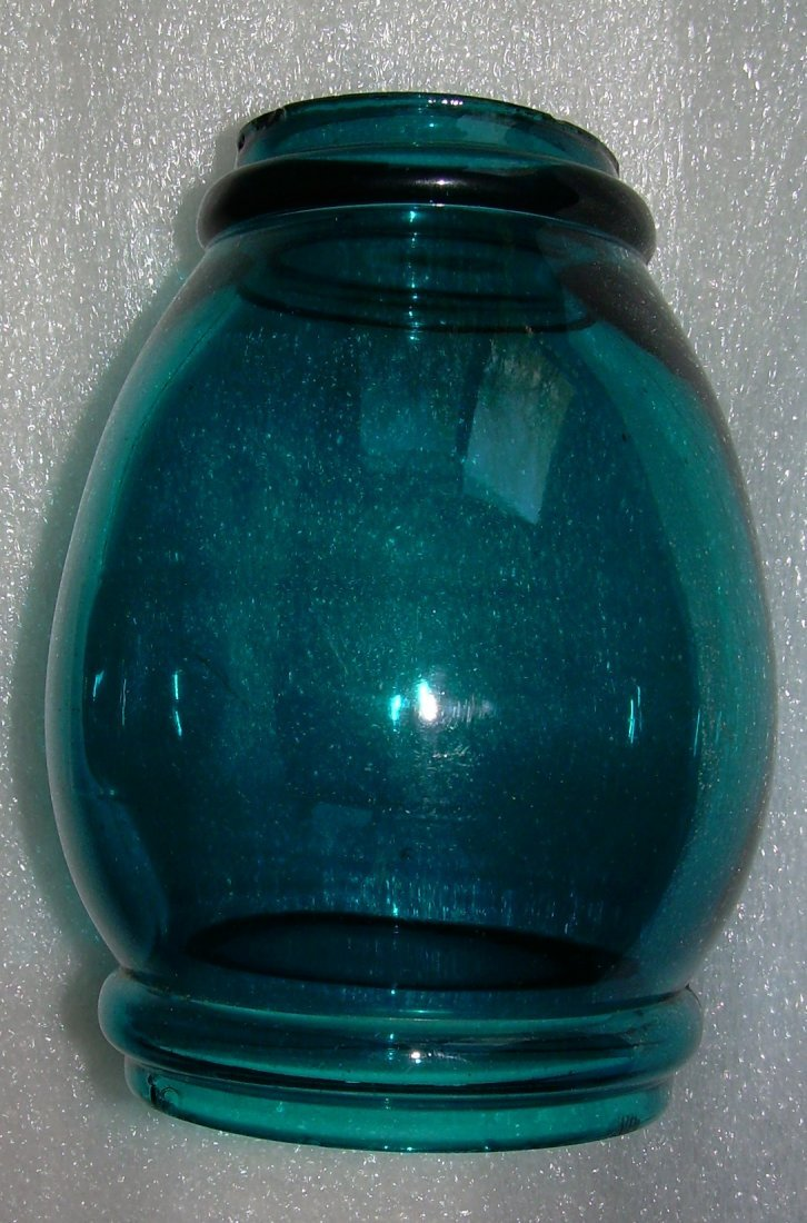 "Green Barrel 6"" Globe for New England Lantern"
