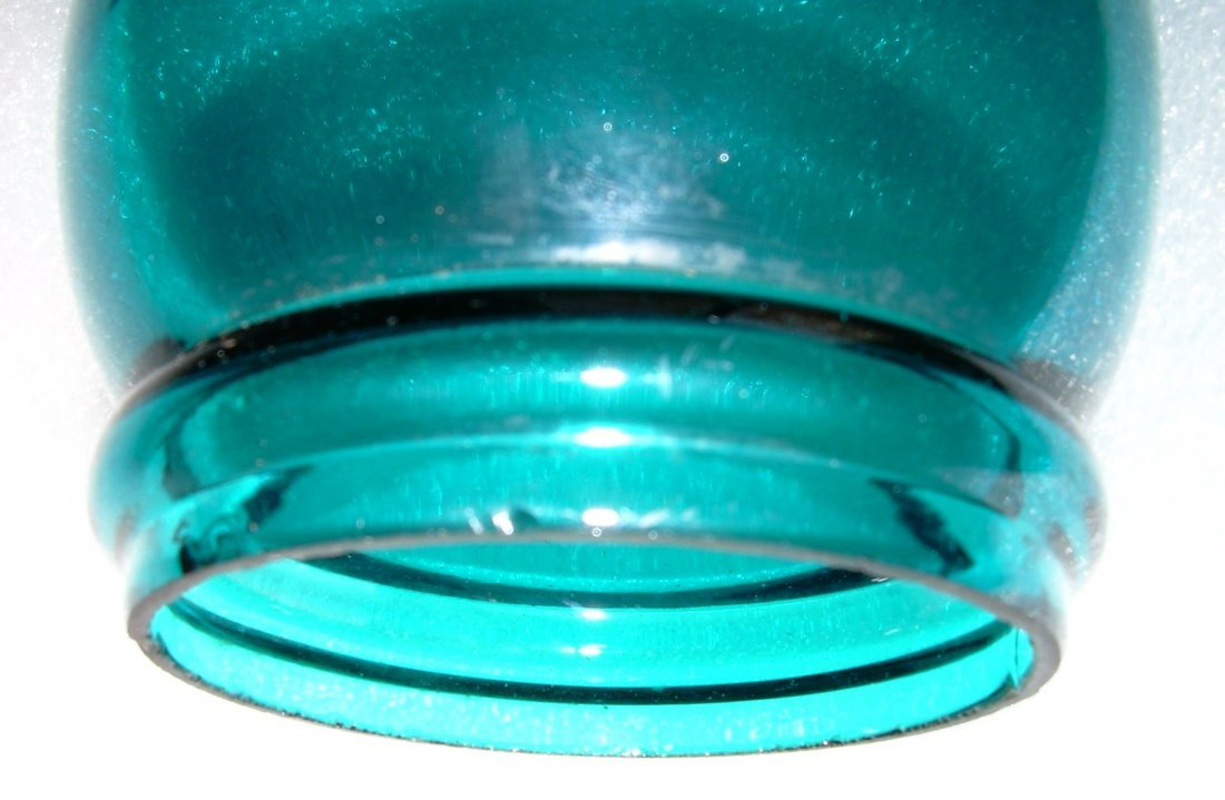 "Green Barrel 6"" Globe for New England Lantern - 2"