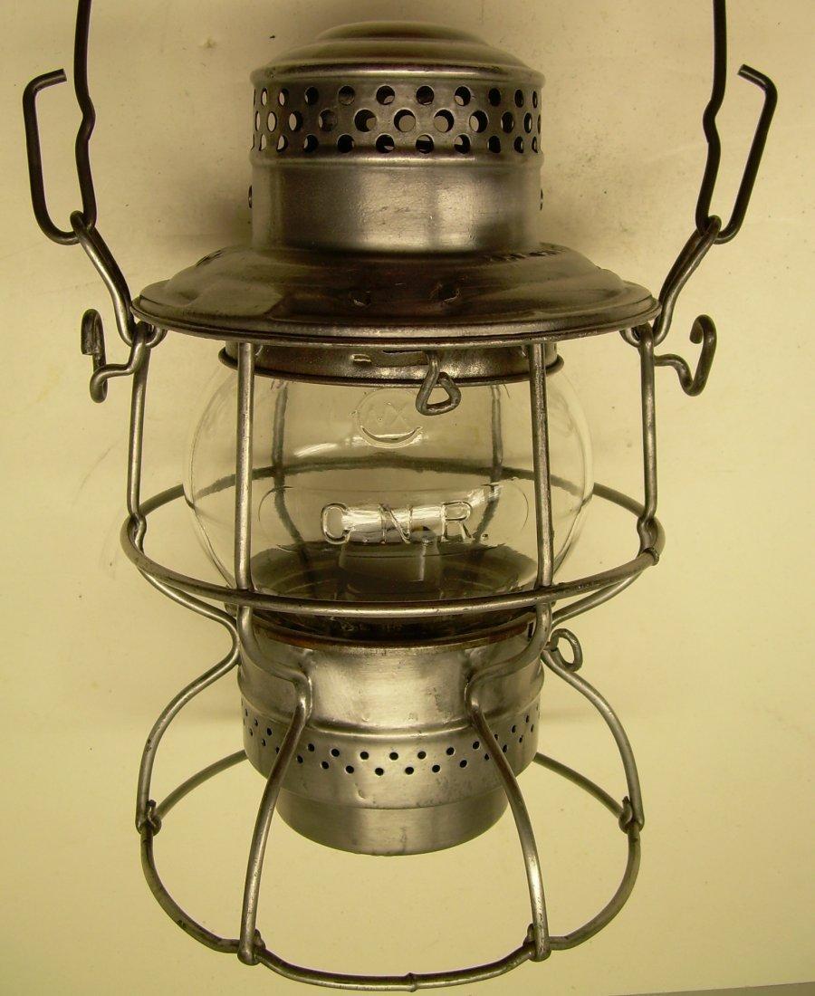 Canadian National Railway Kero Lantern Cast Globe