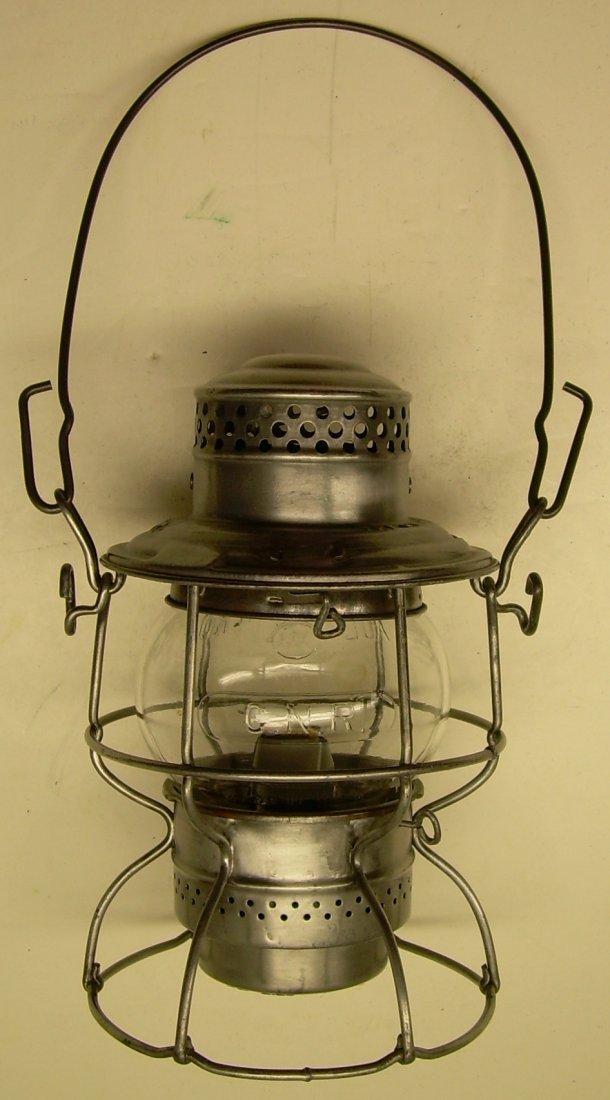Canadian National Railway Kero Lantern Cast Globe - 2