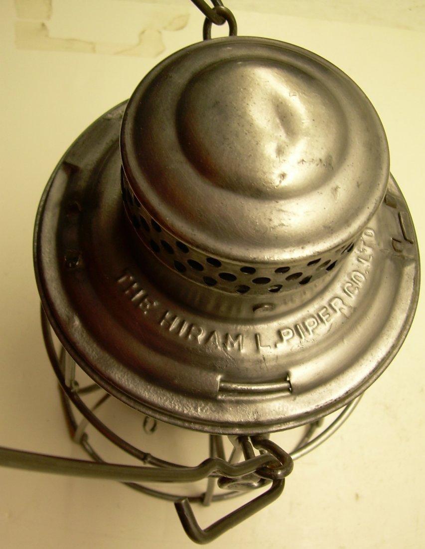 Canadian National Railway Kero Lantern Cast Globe - 4