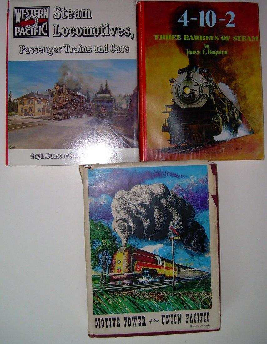 Western Railroad Books WP UP 3 Barrels