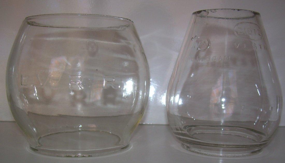 Lantern Globes: Cast  LVRR #100, Rdg Vesta CE