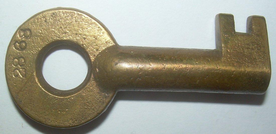 Pittsburgh & Western Railroad Switch Key - 2