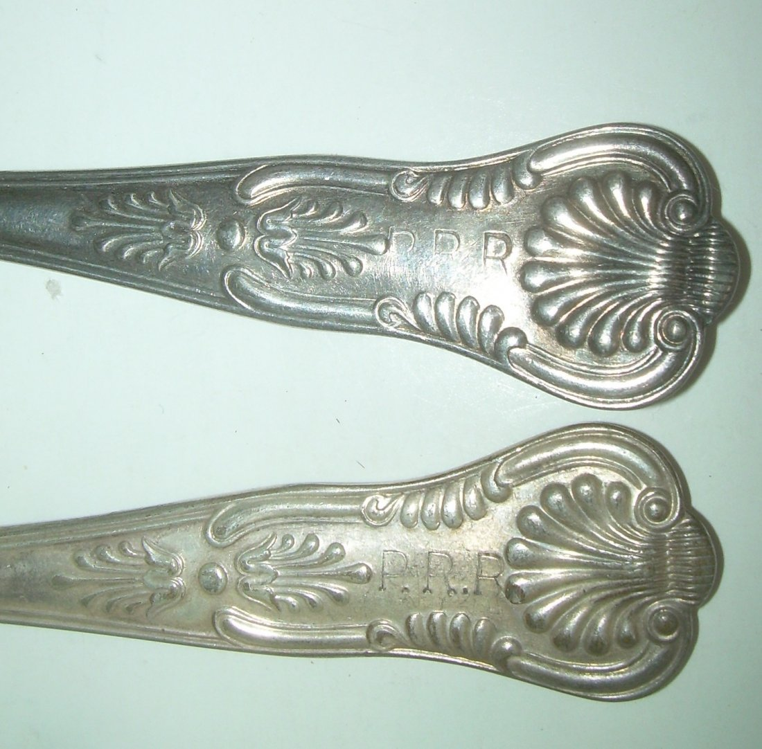 Pennsylvania Railroad Silver Flatware (7) - 3