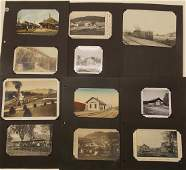 Rutland Railroad Postcards RPPC Depots