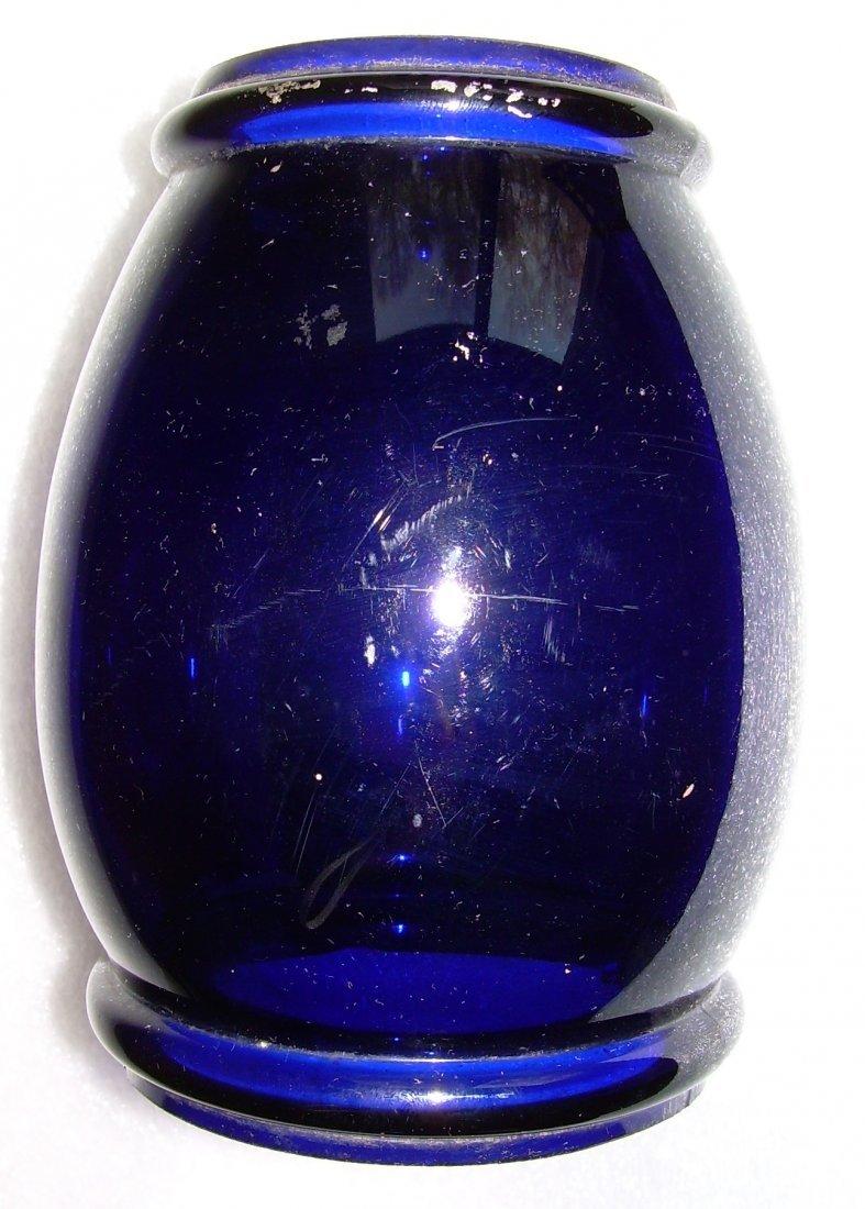 Blue Barrel Globe for New England Lantern