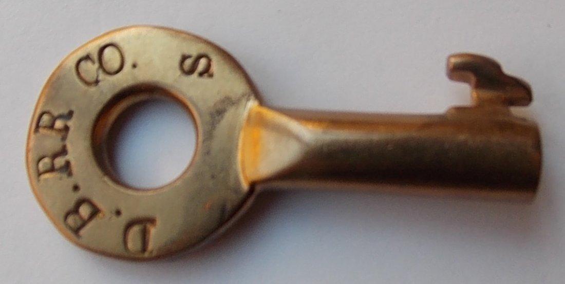 Danville Belt Rairload Switch Key - Illinois