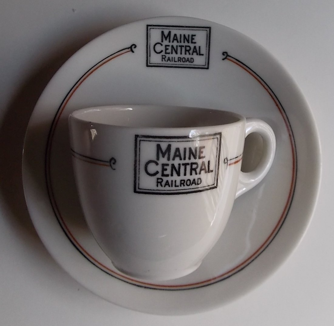 "Maine Central ""Bangor"" Pattern Demi Set"