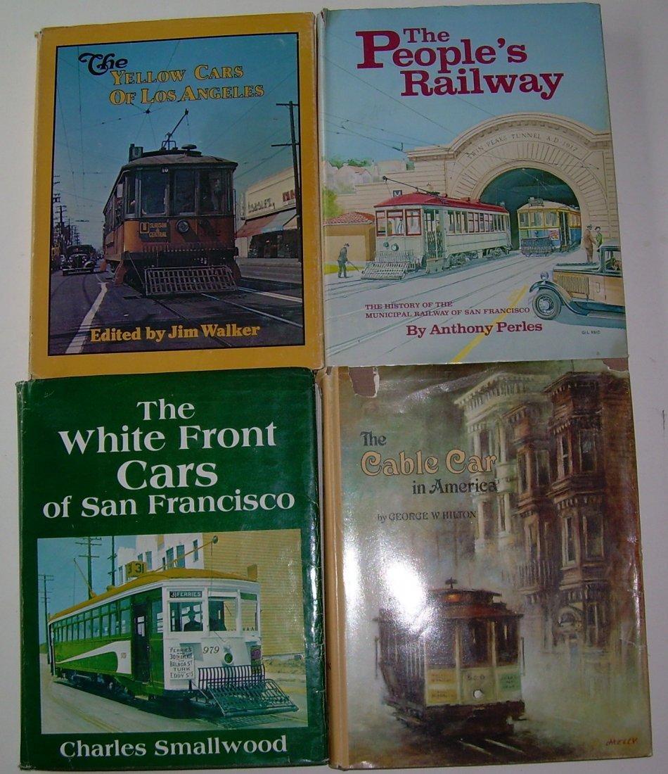 California Street Railway Books