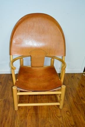 French designed leather Chair