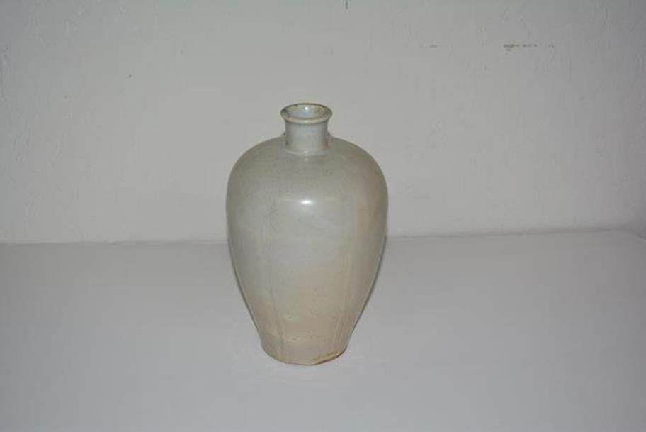 Grey Porcelain Vase